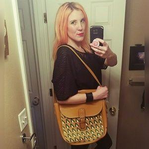 Killer, VINTAGE, patterned, travel bag!!
